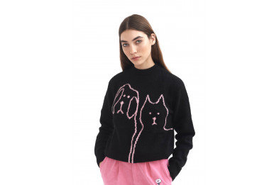 Lazy Oaf Raining Cats and Dogs Knit Jumper