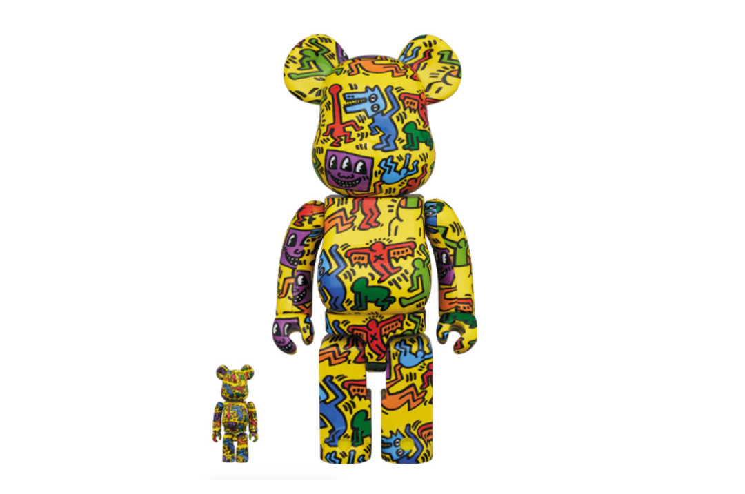 Be@rbrick Keith Haring 400% N5 2-Pack