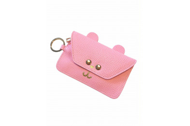 Lazy Oaf Bear-Y Rich Pink Purse
