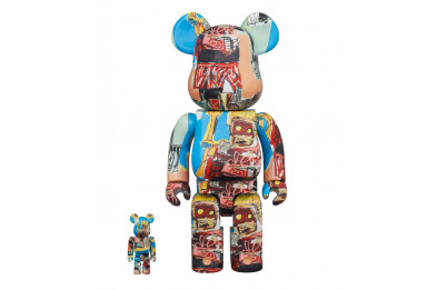 Be@rbrick 400% Jean-Michel Basquiat N6 2-Pack