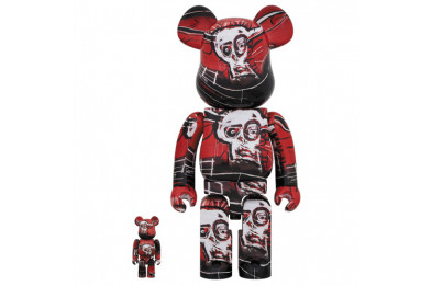 Be@rbrick 400% Jean-Michel Basquiat N5 2-Pack